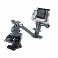Jam Adjustable Instrument Guitar Music Mount Rotating Stage Camp For Go Pro Hero 3 3 4