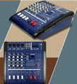 Pro 4 Way Mixing Console 800W  Amplifier Mixer 220V-250V