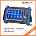 """Ipc-8600movts 7 """" Touch Screen câmera Tester Tester CCTV POE WIFI IP multímetro TDR medidor de potência óptica localizador Visual de falhas e"""