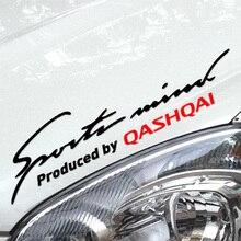 Настройки спортивные ум наклейки на авто лампы брови автомобиль-Стайлинг для Nissan Qashqai автомобильные аксессуары