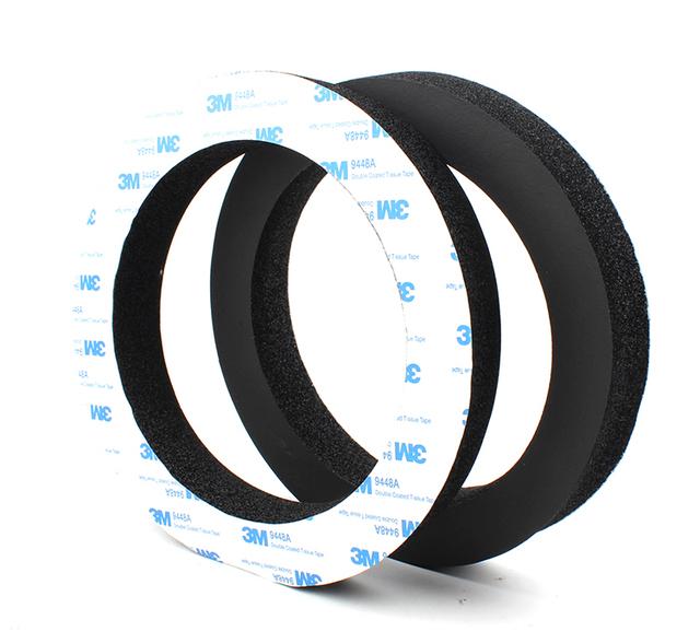 free shipping 6.5 inch Sound Cotton Car Speaker Ring stickers car door Trim Insulation Audio Speakers Sound insulation