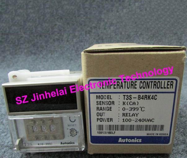 New and original T3S-B4RK4C AUTONICS Temperature controller 100-240VAC new and original t3s b4rp4c autonics temperature controller