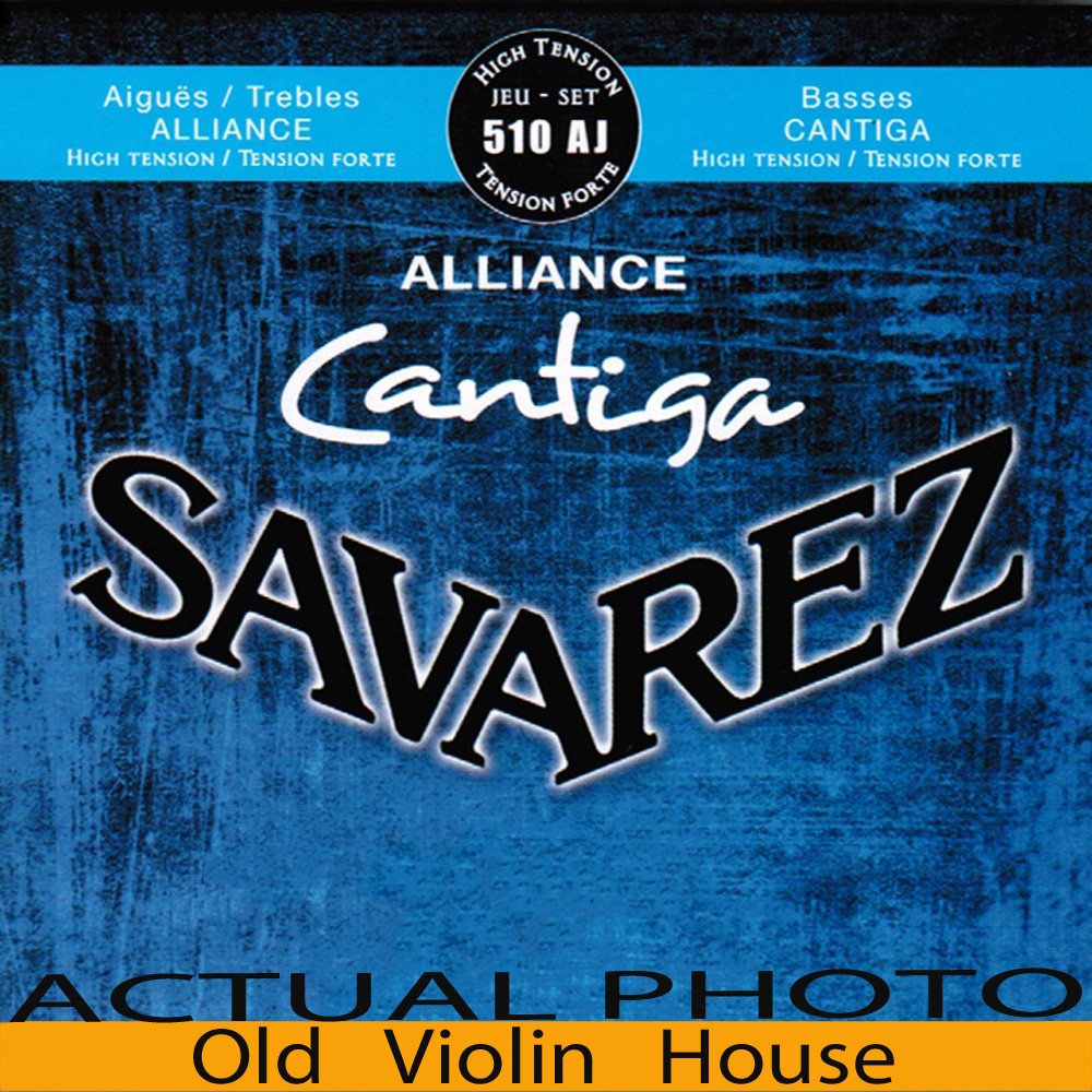Original Savarez 510AJ Classical Guitar Strings, Full Set  ,High Tension,Free Shipping! savarez 500arh classical corum standard tension set 024 042 classical guitar string