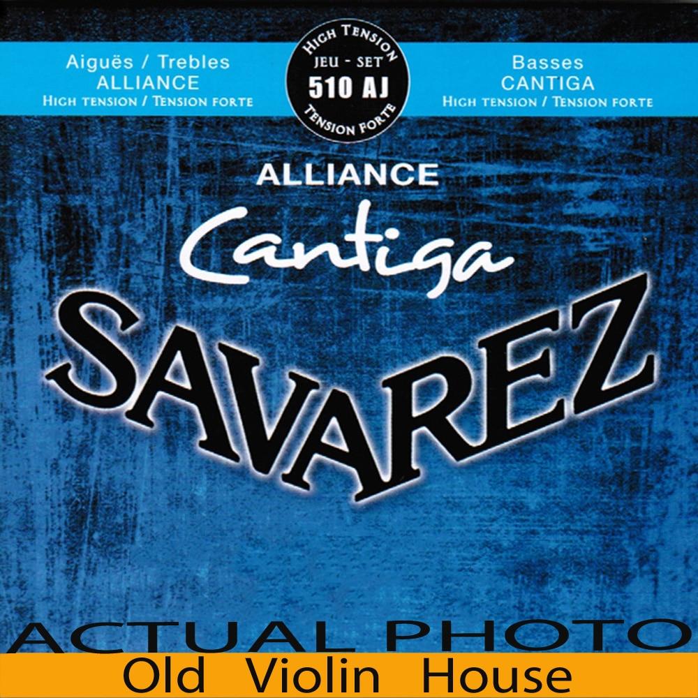 Original Savarez 510AJ Classical Guitar Strings, Full Set ,High Tension,Free Shipping!