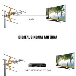 Image 2 - HD رقمي هوائي تلفاز خارجي ل DVBT2 HDTV ISDBT ATSC مكاسب عالية إشارة قوية هوائي تلفاز خارجي