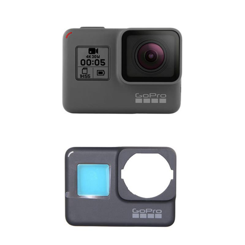 Original UV Cover Panel Replacement for GoPro Hero 5 / 6 Sports Action Camera Spare Parts Accessories Body Shell Cover FPV Parts top quality flated uv printer spare parts gongzheng thunderjet 4 ways black uv sub ink tank on selling