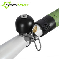 ROCKBROS Stainless Steel Retro Bicycle Bell Cycling Loud Sound Handlebar Ring Horn Road MTB Mountain Bike