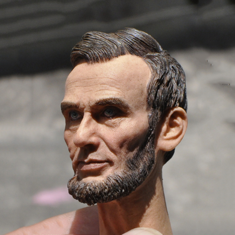 1/6 Scale American President Abraham Lincon Head Sculpt for 12 Inches Male Bodies Dolls Figures Collections Toys Gifts 1 6 scale american president abraham lincon head sculpt for 12 inches male bodies dolls figures collections toys gifts