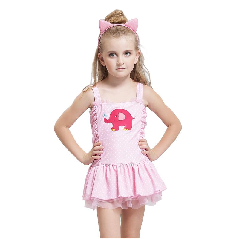 bella dot qualit simsuits per le ragazze di un pezzo del costume da bagno per bambini