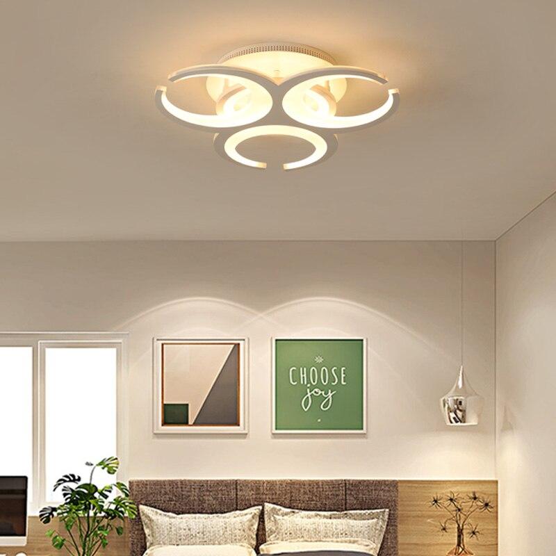 2018 New Arrival Acrylic Metal  Modern Led Ceiling Lights For Living Study Room Bedroom modern led ceiling lights ceiling lights led ceiling light - title=