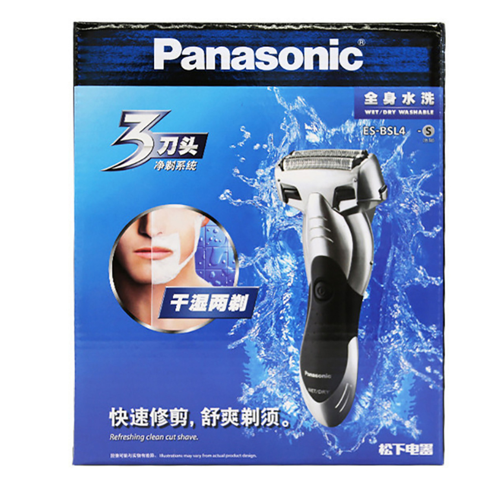 Image 5 - Orignal Panasonic Three head reciprocating charging razor Waterproof Rechargeable mens Electric Shaver with trimmer ES BSL4-in Electric Shavers from Home Appliances
