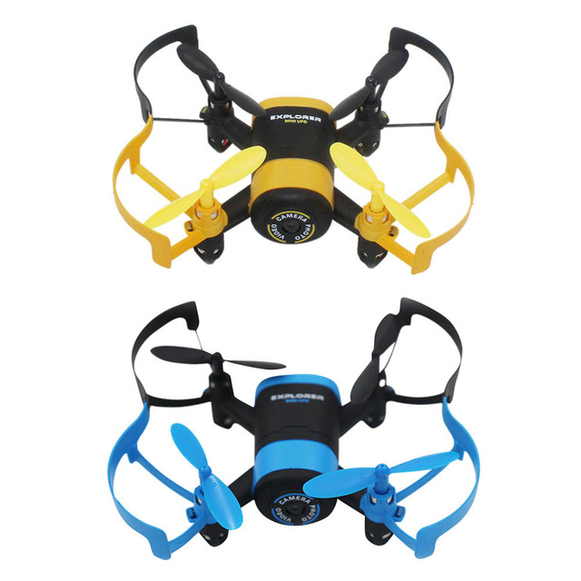 JXD 512 Вт JXD512W 2.4 ГГц WiFi FPV Мини Drone Один Ключ вернуться & Режим Безголовый RC Quadcopter с 0.3MP HD Камера RTF