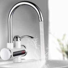 الرقمية سخان مياه كهربي الحنفية صنبور الماء الساخن لحظة سخان الباردة التدفئة صنبور Tankless سخان مياه لحظية EUPlug