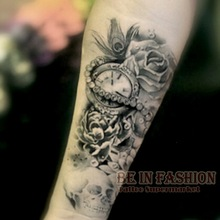 Skull Tattoos on Hand