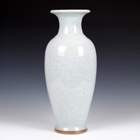 Античная керамика печи треск глазури кракле июня фарфоровая ваза современный классический мебель украшения ремесла
