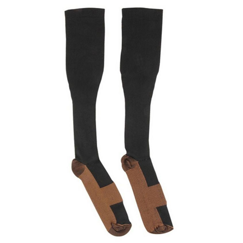 Vestido 2017 Ladies tops Fashion Comfortable Relief Soft Unisex Anti-Fatigue Compression Socks Vetement femme