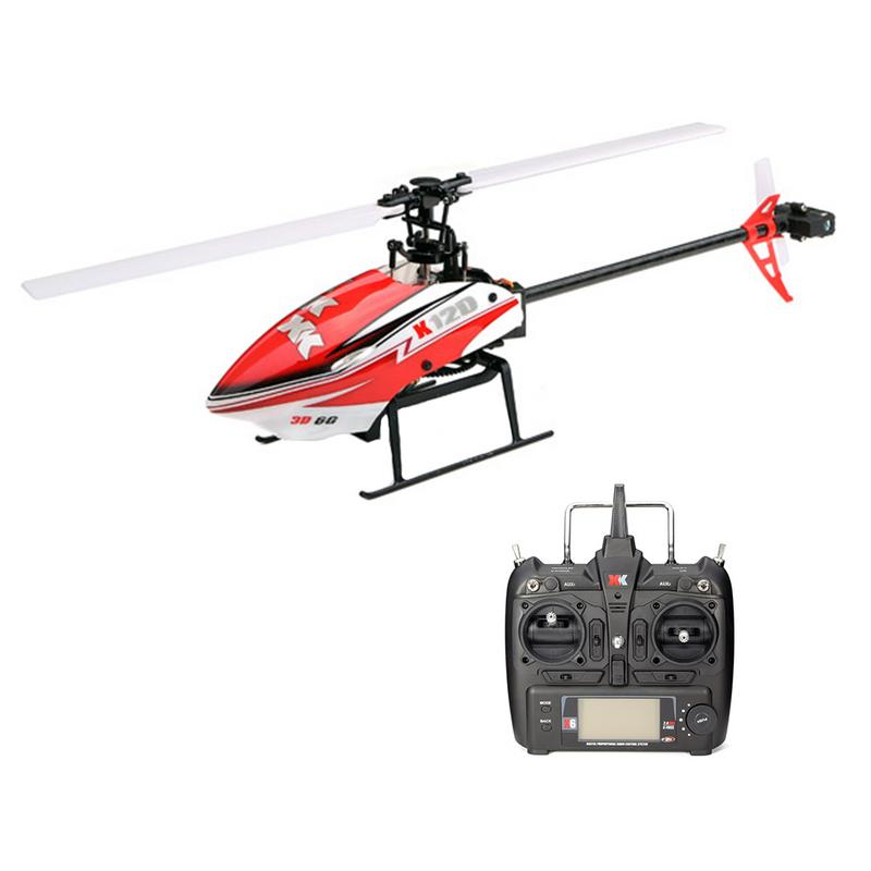 XK K120 Shuttle 6CH Brushless 3D6G System RC Helicopter RTF xk k120 shuttle 6ch brushless 3d6g system rc helicopter rtf