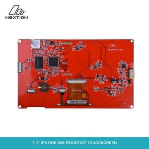 Image 5 - NEXTION 7.0 Nextion אינטליגנטי סדרת NX8048P070 011R HMI IPS RGB 65K Resistive מסך מגע תצוגת מודול ללא מארז