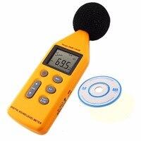Professional Handheld 5-Range Digital Sound/Noise Level Meter with Analog Signal Output & USB Port 40~130 dB Decibel
