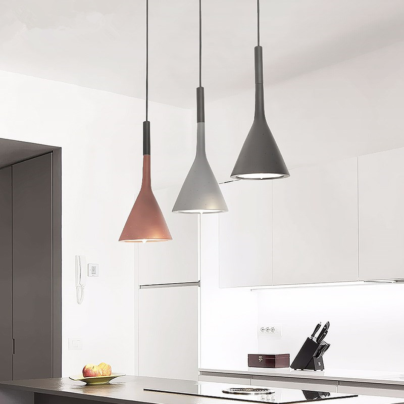 Nordic  Aluminum personality simple modern bar dining room living room bedside lamps  cafe pendant light  kitchen hanging lampsNordic  Aluminum personality simple modern bar dining room living room bedside lamps  cafe pendant light  kitchen hanging lamps