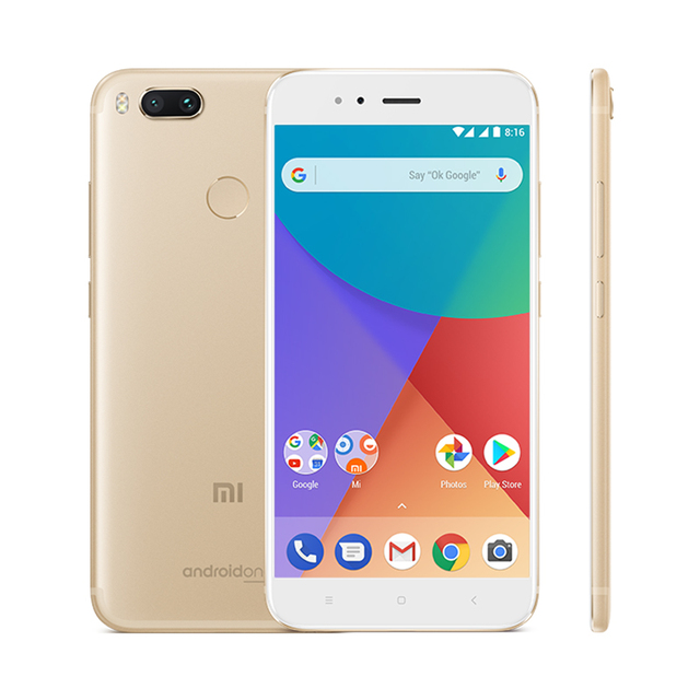 Global Version Xiaomi Mi A1 4GB 64GB MiA1 Mobile Phone Snapdragon 625 Octa Core 5.5