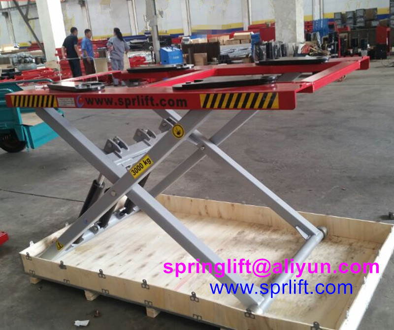 portable scissor lift portable car lift for home garage ...