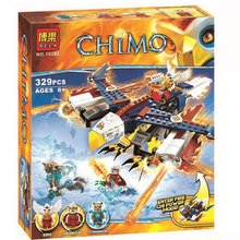 Bela 10292 Chimo Series Haggard Heron Minifigure Building Block 329Pcs Bricks Toys Compatible with Legoe