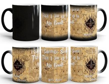 marauder's map mugs marauders map mug coffee mug mischief managed mug disappearing novelty cold hot heat changing color tea cups