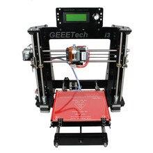 3D Принтер Высокая Точность Акриловые Geeetech I3 pro B 3D Принтер DIY kit поддержка 5 типов нити Легкой Регулировки
