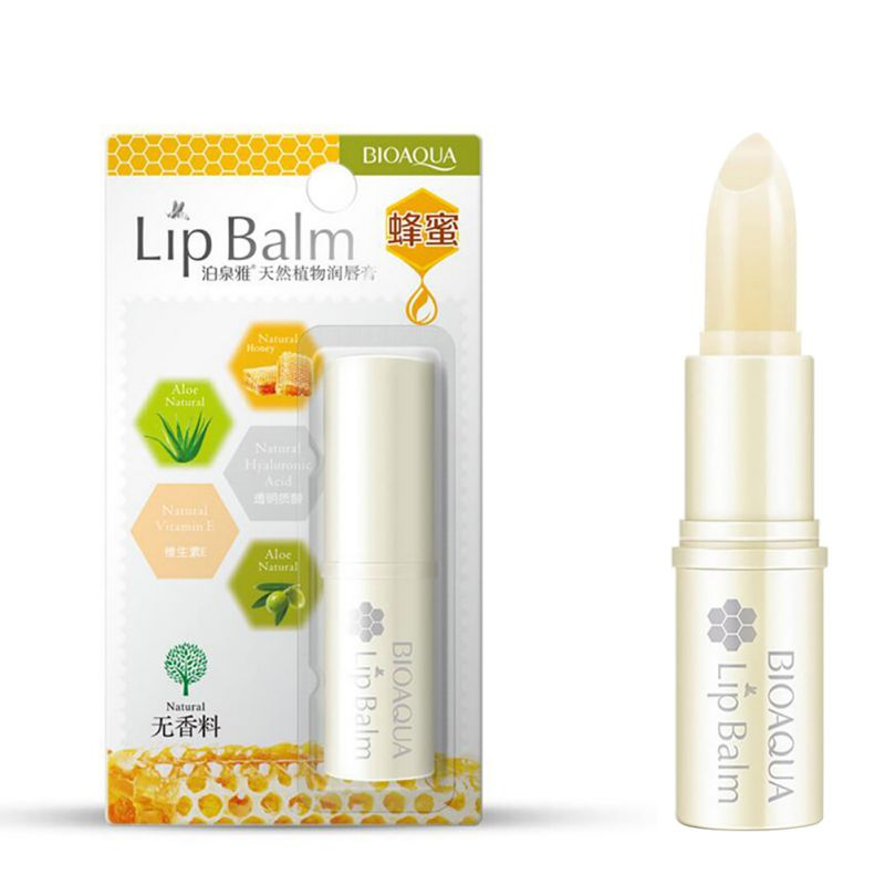 Beauty Moisturizer Anti Cracking Crystal Lips Care Pure Natural Plant Lip Balm Transparent