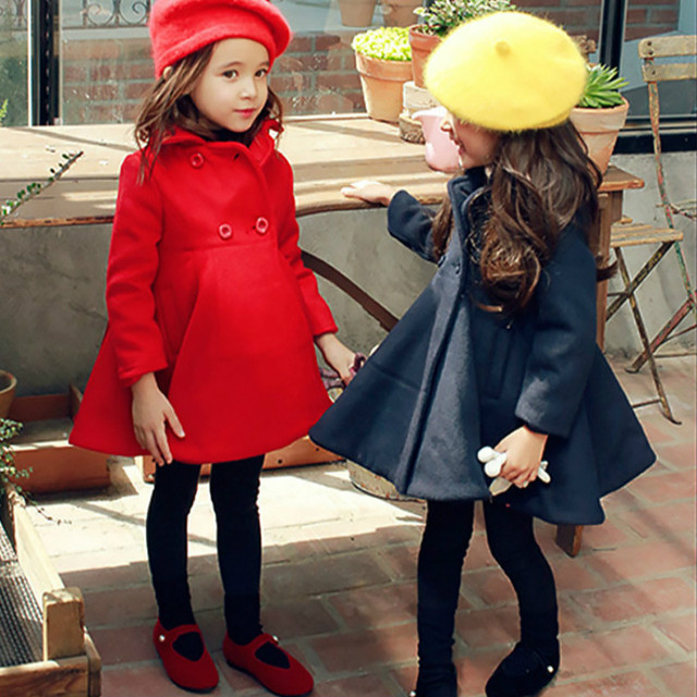 New arrival girl jacket,children winter clothes,clasic girls coat for 3T-12T free shipping good quality coat