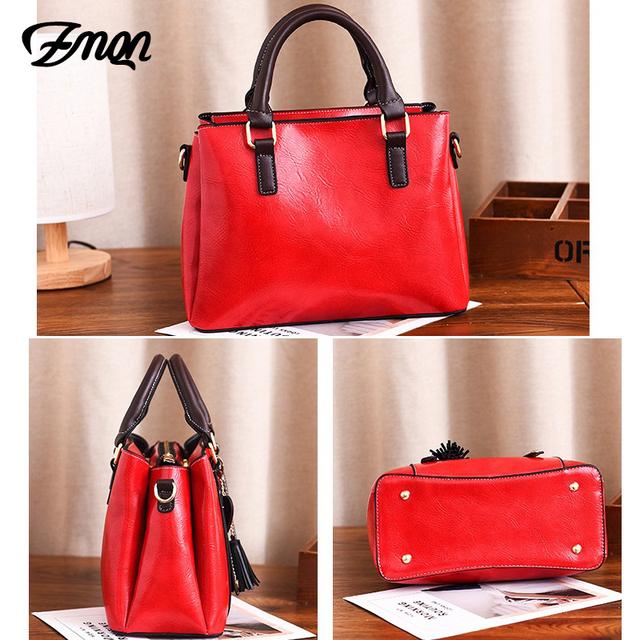 ZMQN Bags Women's Red Shoulder Bags For Women 3 Space PU Leather Handbags Lady Small Bag 2019 China Brands Bolsa Feminina A565