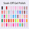TRY NAIL Hot Sale Free Shipping Soak Off  Three Step Gel Polish UV/LED Nail Polish For Nail Art(DA001~DA030)