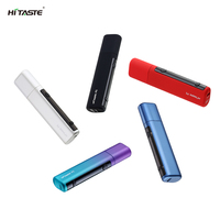 2018 new heat not fire vape pen Hitaste P5 factory original heat without burn electronic cigarette for heets