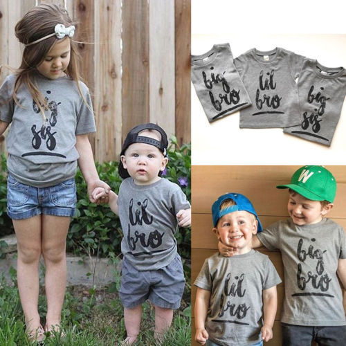 062e1f81ffeb Baby Toddler Brother Sister Matching Tee Shirt