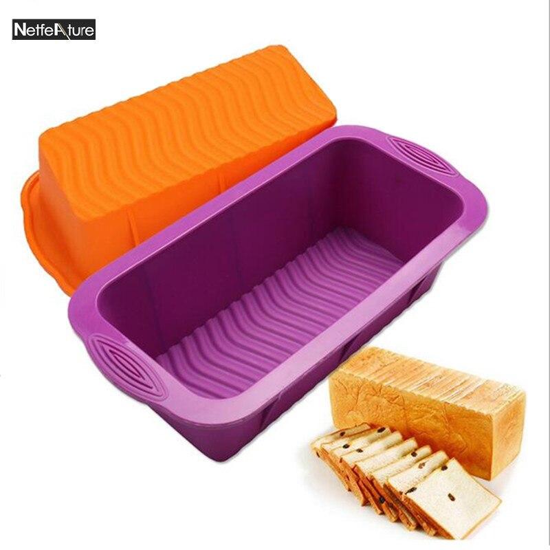150 그램 25.5 * 13 * 7 센치 메터 DlY 3D 실리콘 비 스틱 케이크 금형 팬 베이킹 장식 도구 토스트 빵 치즈 모델 베이킹 팬 빵 접시