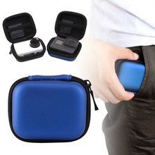 New Arrival 1pc 2Colors Mini Storage Bag Shockproof Portable Carrying Case Box For Gopro Hero 6