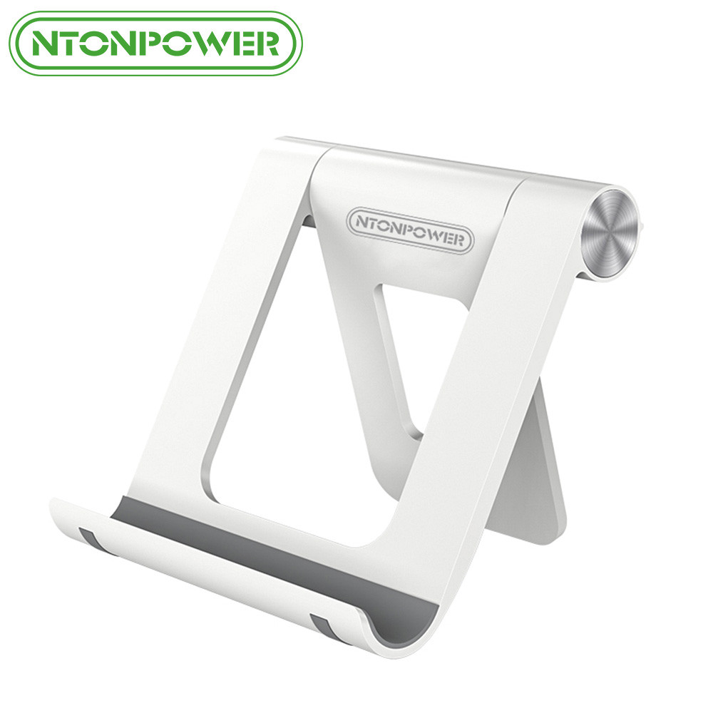 NTONPOWER font b Phone b font stand Holder for iPhone 8 X 7 Tablet Stand 360