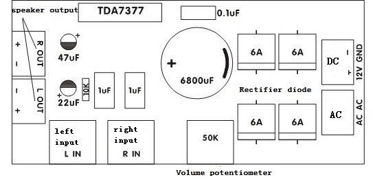 tda7377 -1