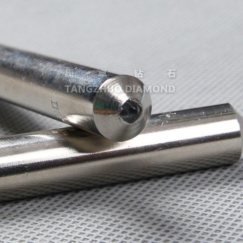 free shipping single point diamond 1 0ct grinding wheel dresser cutter 10mmX48mm dresser pen 5pcs