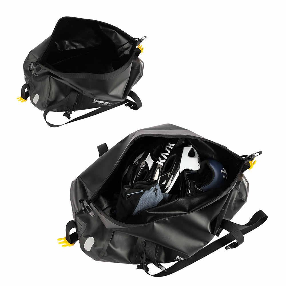 Носорог полный водонепроницаемый велосипедные сумки для багажа мульти дорожная сумка Задняя деталь велосипеда багажник велосипедное седло Сумка велосипедная 20L 27L