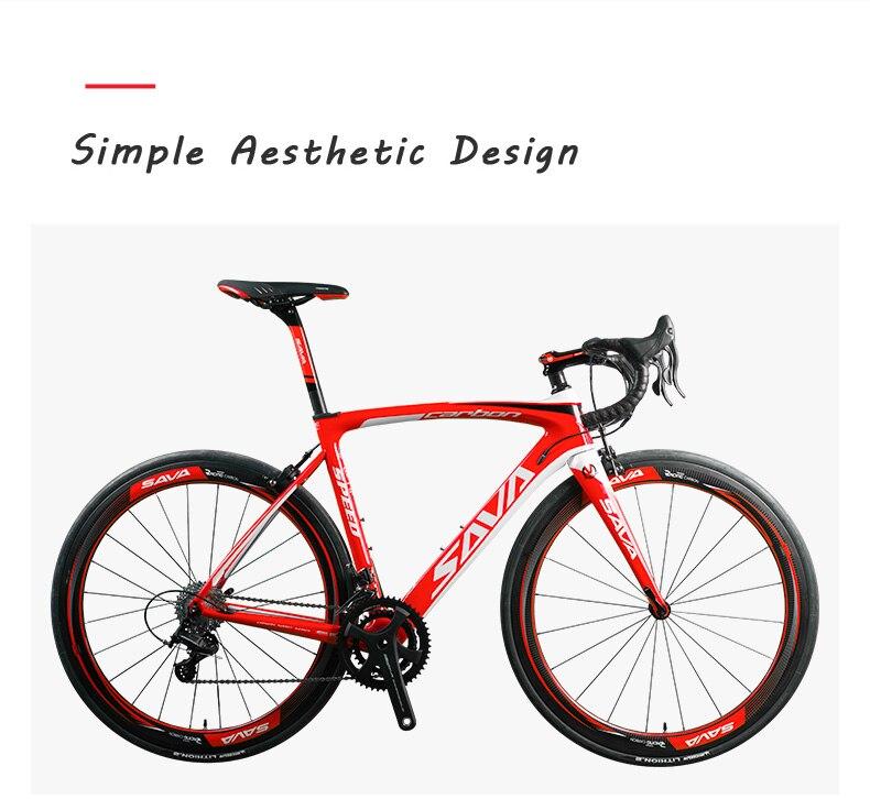 HTB1GgeOaOfrK1RjSspbq6A4pFXa9 - SAVA Carbon Highway bike Highway Bicycle 700c Carbon Bike Herd 9.zero Biking Pace Highway Bike 22 Pace bicycle Full carbon Body/wheelset