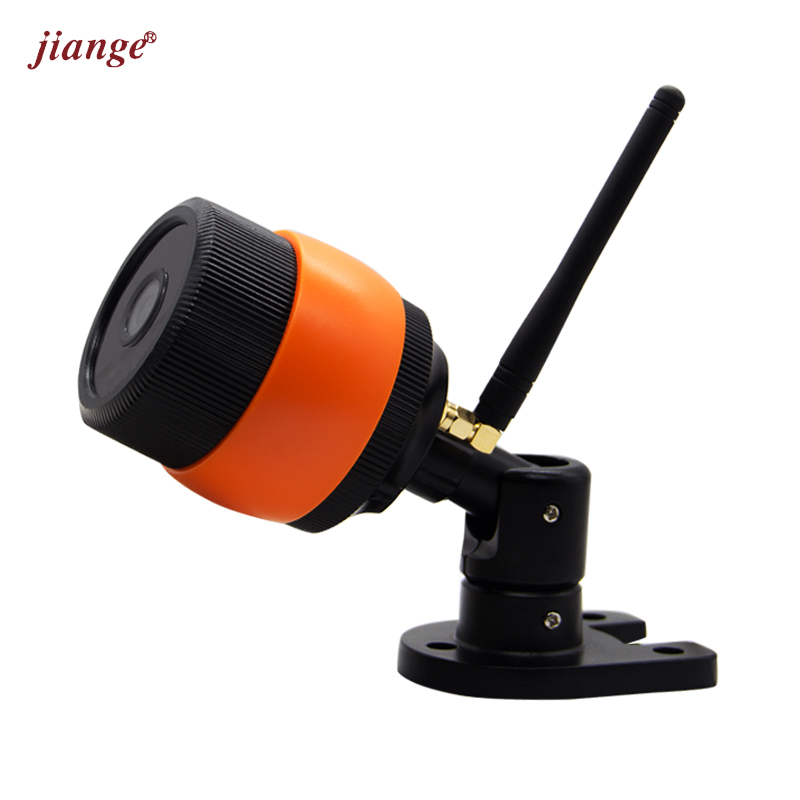 jiange Network Wireless Waterproof Bullet Camera Infrared IP Camera 720P HD WiFi Mobile Remote Monitoring Surveillance Camera B5 3g mobile bullet ip camera with wcdma network for 720p hd live stream