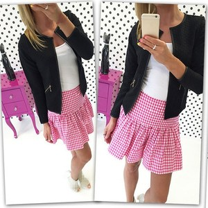 Hot New Women Coats Short Jacket Autumn Spring Long Sleeve Jacket Round Neck Short Coat Outwear
