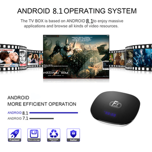 Image 5 - A95X F1 Smart Android 8.1 TV BOX 2GB 16GB 2.4G Wifi Amlogic S905W Quad Core Media Player Youtube HD Set Top Box  PK X96 TX3 mini