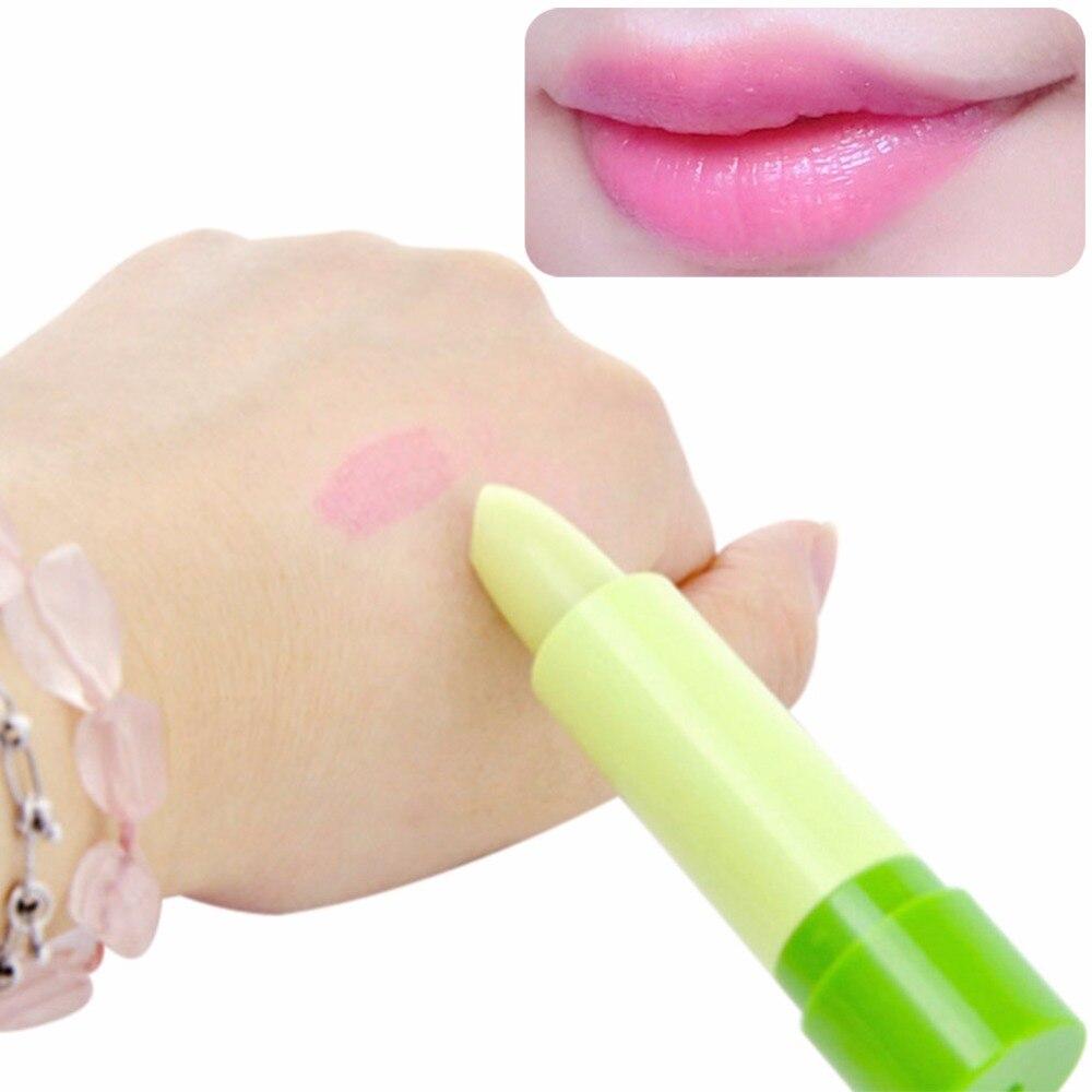 Magic Fruity Smell Changable Color Lip Balm Waterproof -7566
