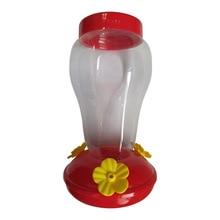 Plastics Bird Water Feeder Bottle Hanging Hummingbird Wall 17.8*10.5*10.5cm Home Garden