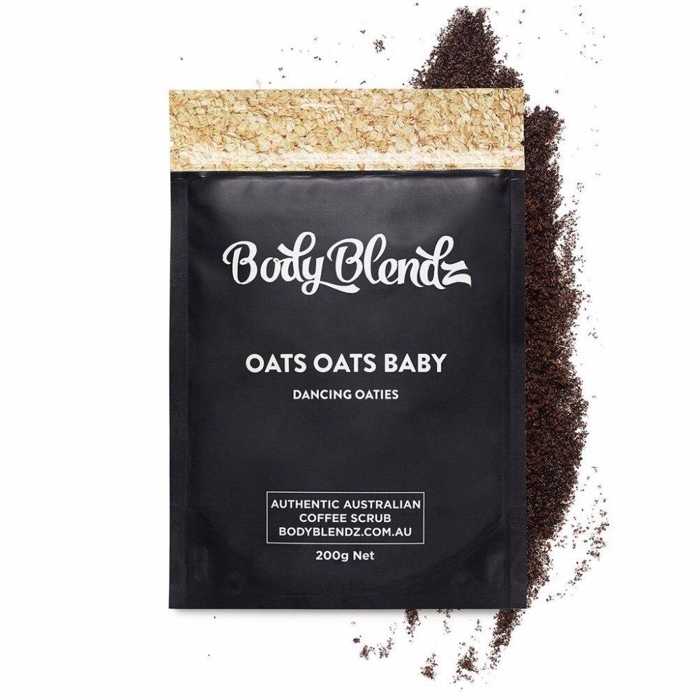 Authentic Australia Hotselling Body Blendz Oats Oats Baby Scrub Remove dead skin Body Treatment exfoliating hydrating &firming