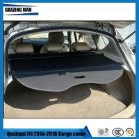 Nylon Polyester Auto rear trunk cargo cover For Qashqai J11 2014 2015 2016 , auto accessories