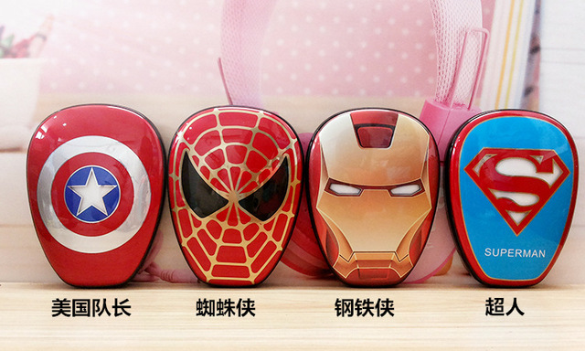 Super Heroes 6000 mah  Portable Power Bank